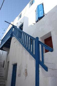 Stairway to heaven. Close enough it's Mykonos, Greece.