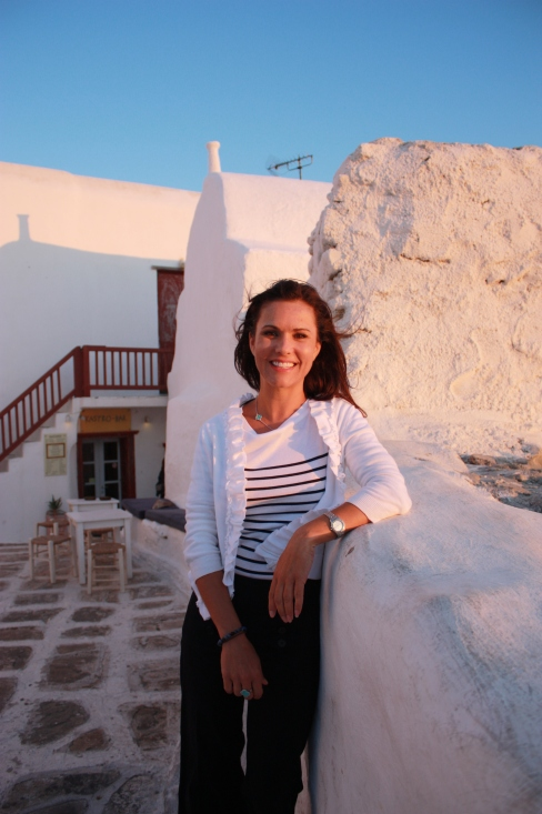 A dream come true and my first sunset in the glorious Greek Isles