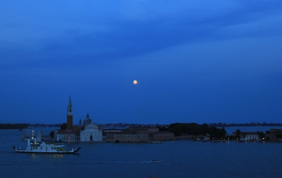 Moonlight and the Lagoon