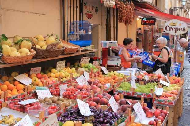 Fruit Markets of Sorrento