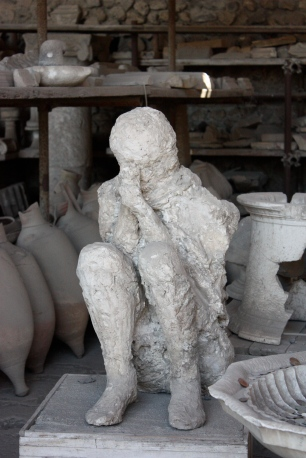 Praying Man at Pompeii