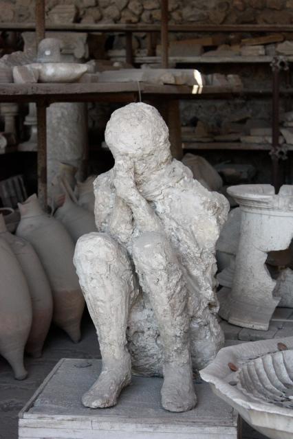 Praying Man at Pompeii