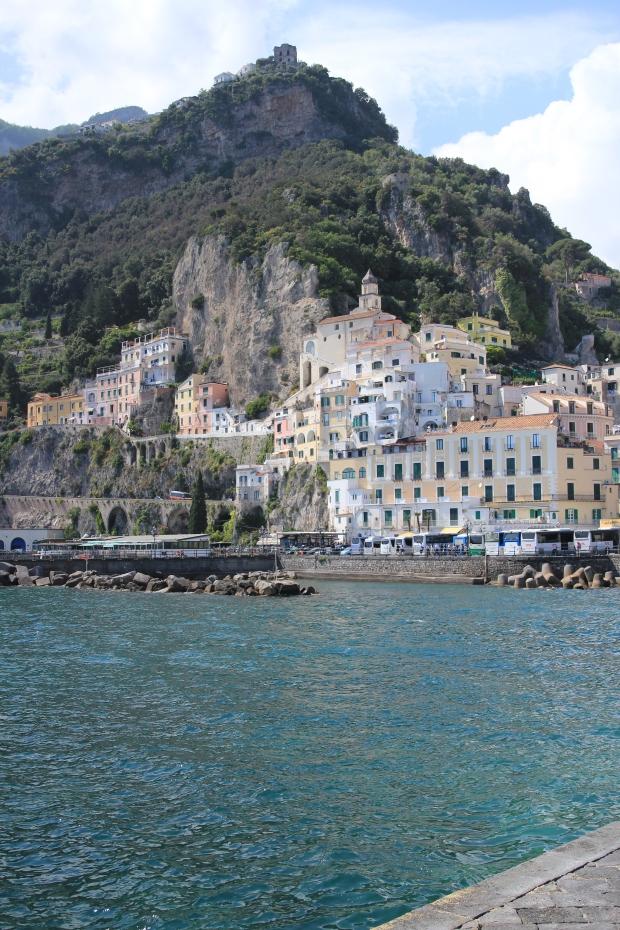 Cliff Hanging Amalfi