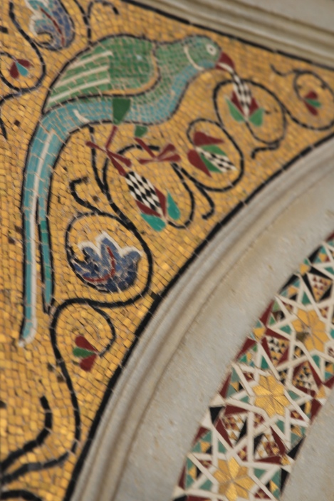 Gilded details from Amalfi's Golden Age