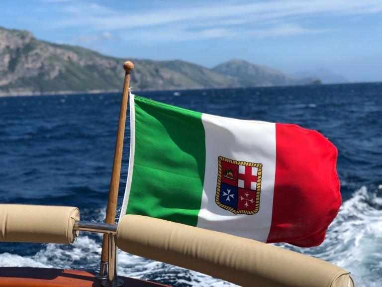 Italia.Maritime Flag